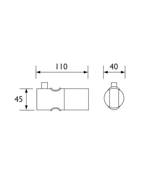 Technical drawing 1526 / SLID101 C