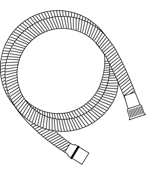 Technical drawing 1555 / HOSE107 G