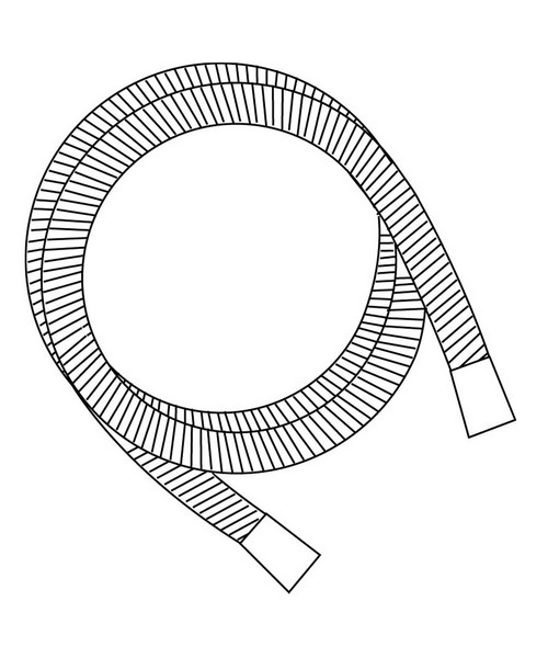 Technical drawing 1561 / HOSE113 W