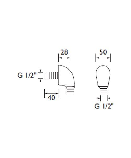 Technical drawing 1571 / WO2 C