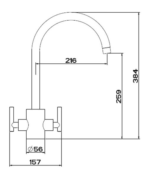 Technical drawing 1624 / AR SNKPURE C