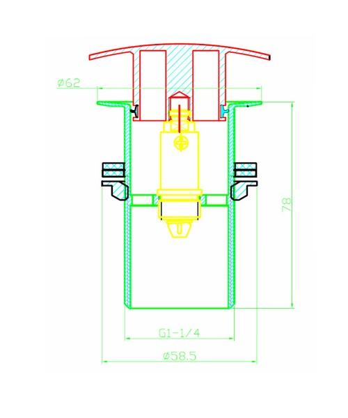 Technical drawing 1642 / W BSN16 C