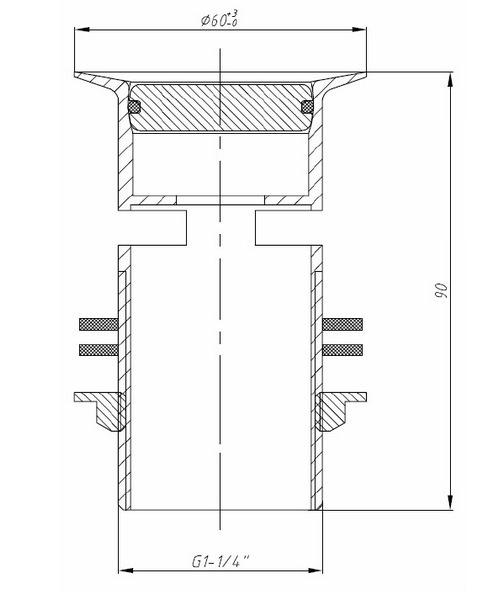 Technical drawing 1645 / W BSN19 C