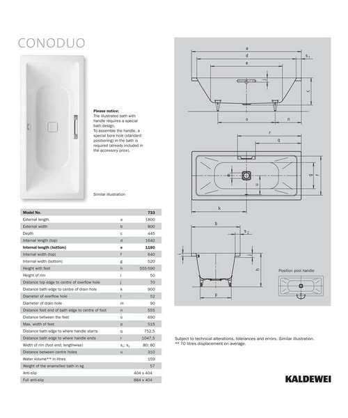 Technical drawing 16503 / 235100010001