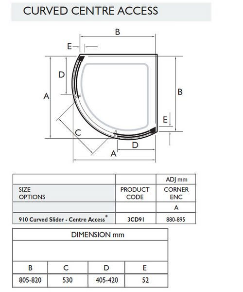 Technical drawing 16829 / 3CD91W