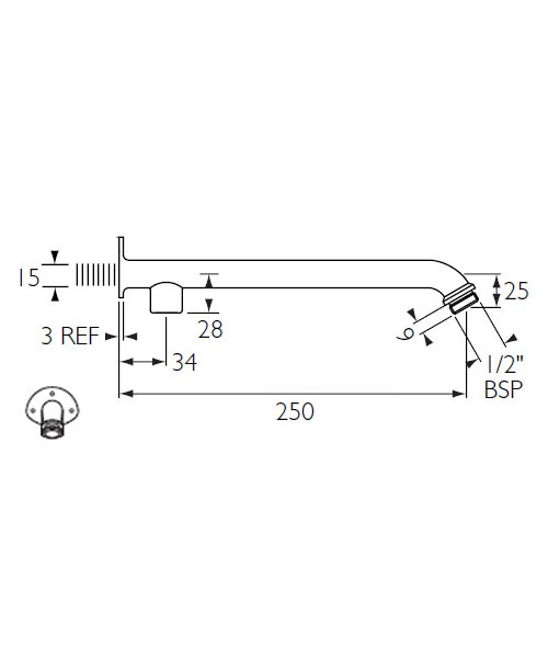 Technical drawing 1706 / SA260-C