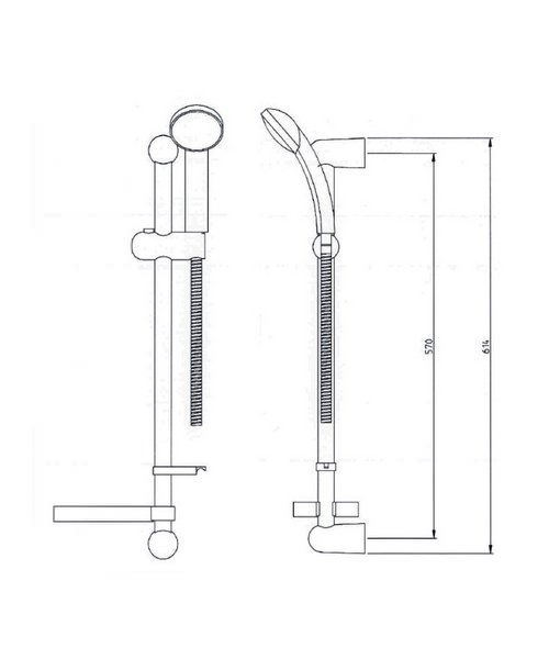 Technical drawing 1709 / MTSF KIT C