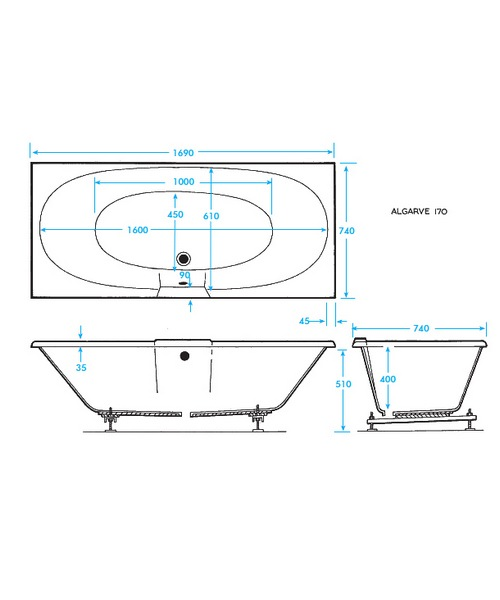 Technical drawing 17189 / TEDE1700700