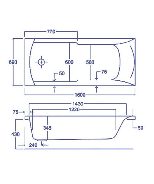 Technical drawing 1747 / Q4-02033