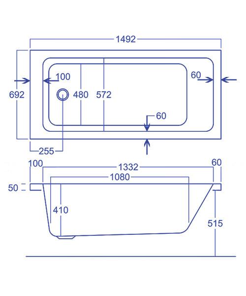 Technical drawing 1751 / Q4-02141
