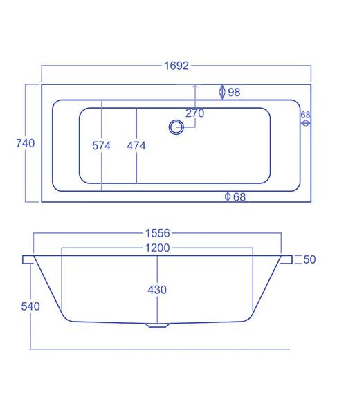 Technical drawing 1760 / Q4-02157