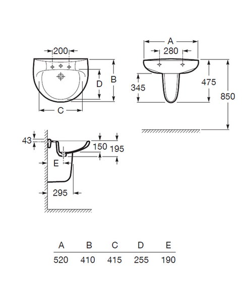 Technical drawing 17722 / 325394000