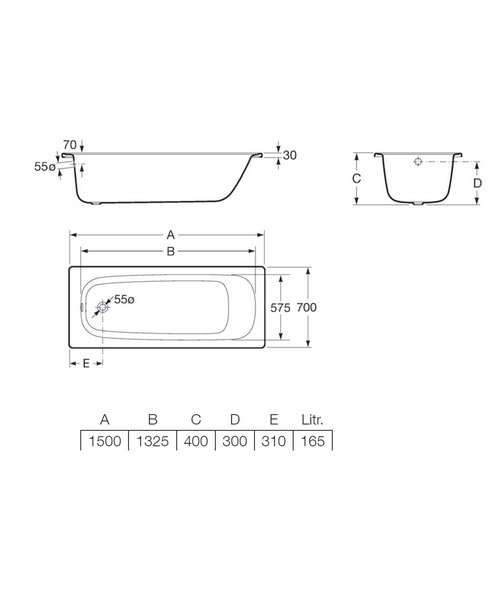 Technical drawing 17818 / 2360K0000