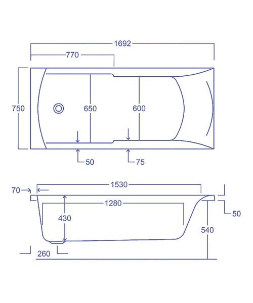 Technical drawing 1797 / Q4-02118