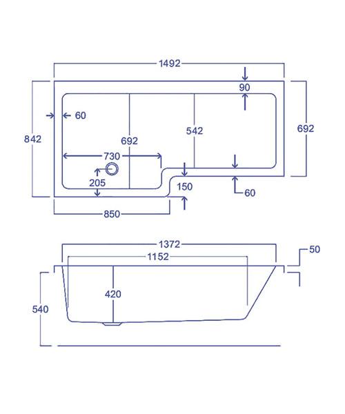 Technical drawing 1808 / Q4-02175