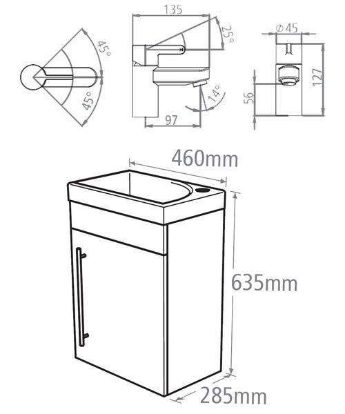 Technical drawing 18211 / ESWM45AW