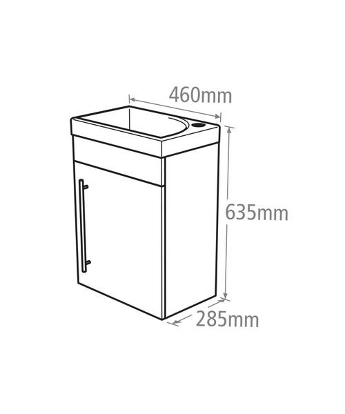Technical drawing 18212 / ESWM45W
