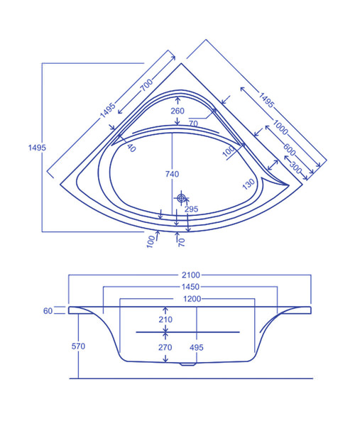 Technical drawing 1831 / CACCE155PA