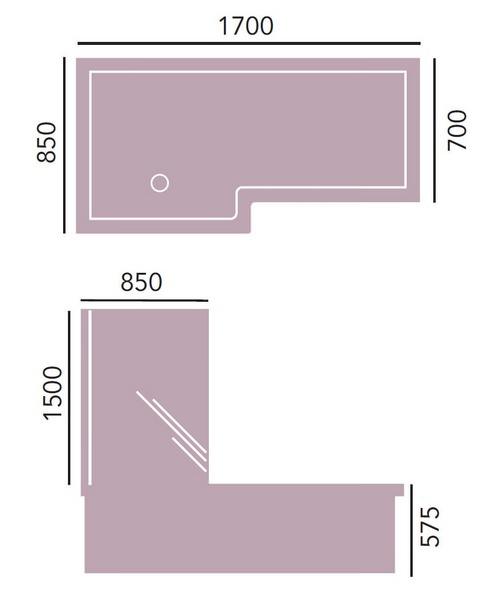 Technical drawing 18435 / BVEWSR00SS