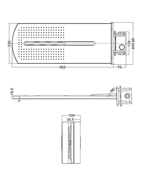 Technical drawing 1853 / FH2000UC