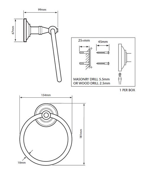 Technical drawing 18593 / ACC01