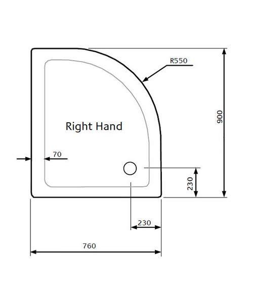 Technical drawing 18652 / LKTQ9076R