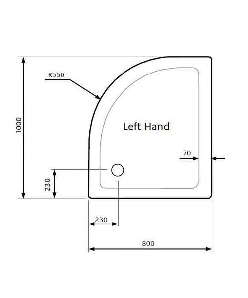 Technical drawing 18655 / LKTQ8010L