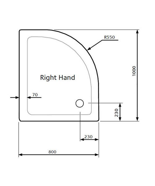 Technical drawing 18656 / LKTQ8010R