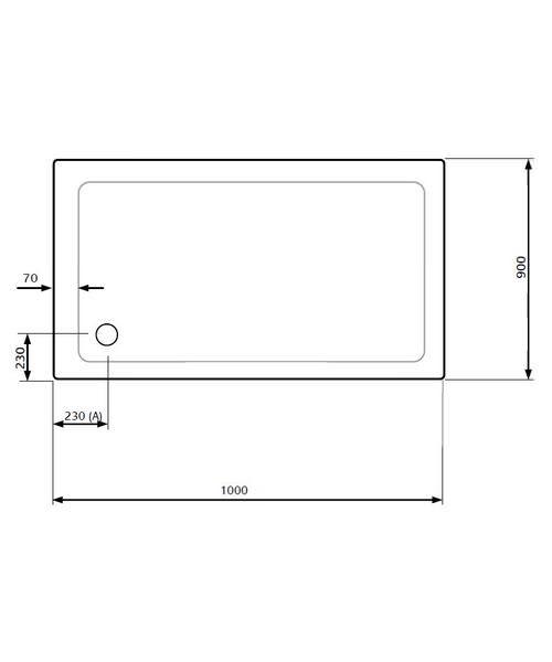 Technical drawing 18668 / LKTR9010