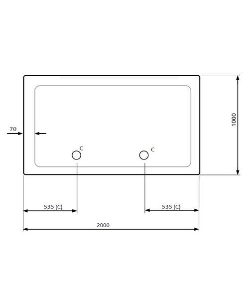 Technical drawing 18697 / LKTR1020