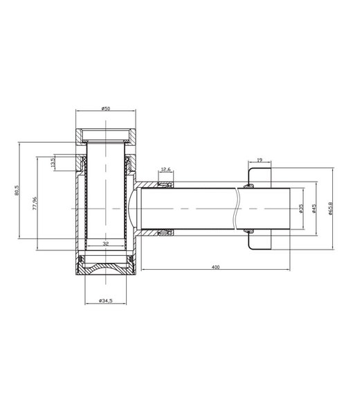 Technical drawing 1871 / BTR0401C