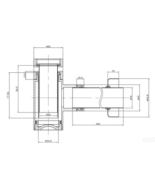Technical drawing 1873 / BTR0404C