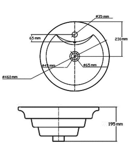 Technical drawing 18740 / NBV006