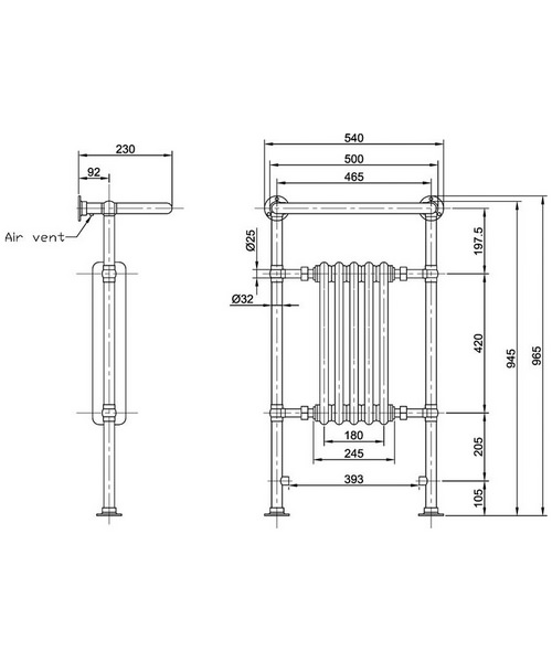 Technical drawing 18764 / HTD06