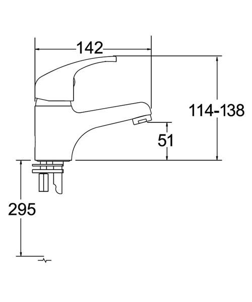 Technical drawing 18985 / ADORE113/EK