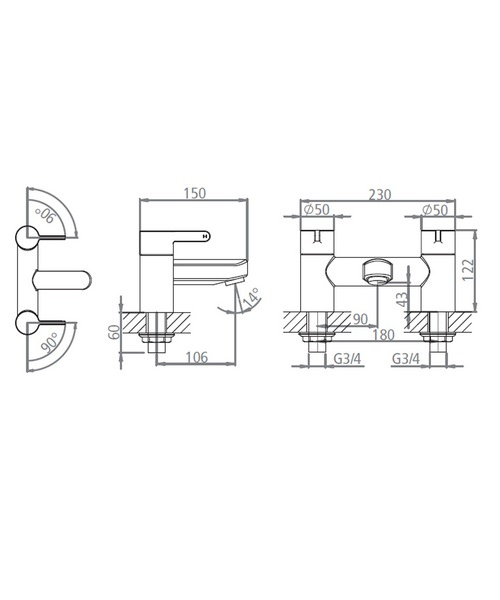 Technical drawing 19175 / T993002