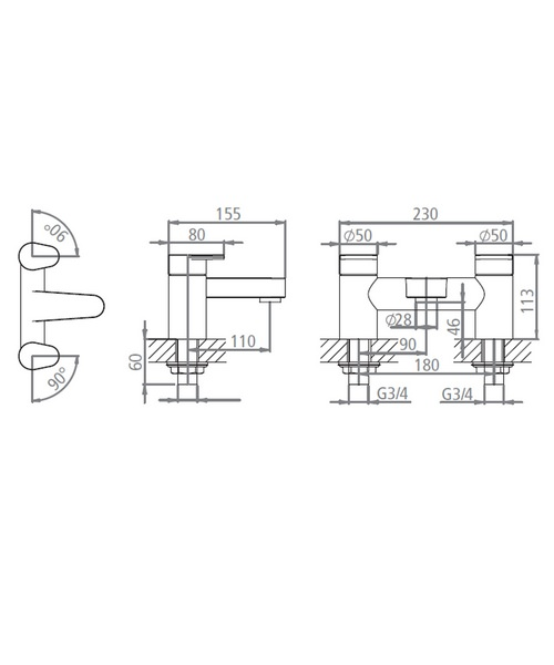 Technical drawing 19182 / T773002