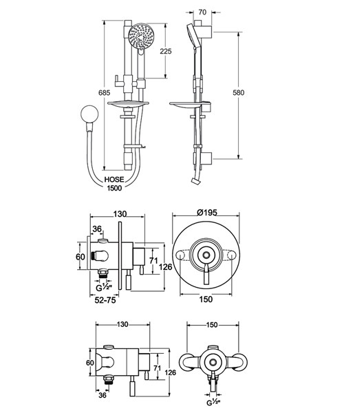 Technical drawing 19352 / VSNCCONT03