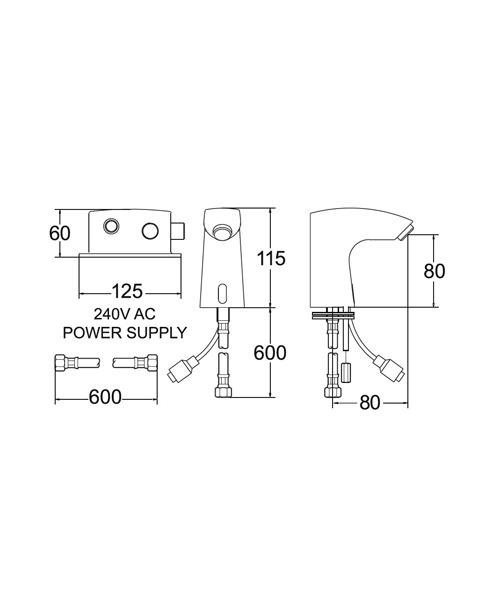 Technical drawing 19379 / SENSOR1/D