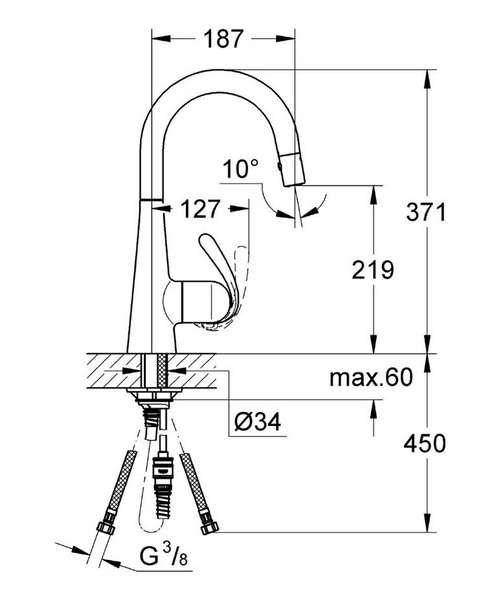 Technical drawing 19632 / 32296SD0