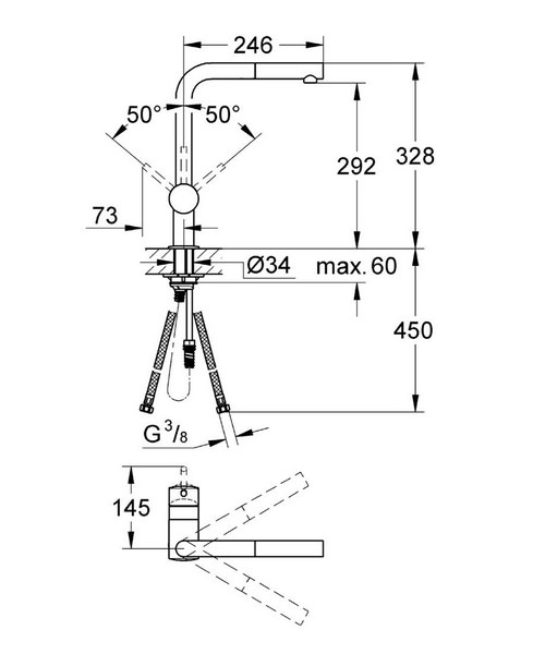 Technical drawing 19641 / 32168DC0