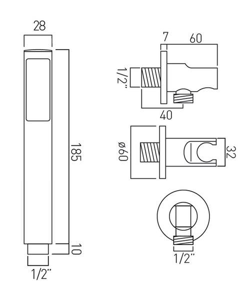 Technical drawing 19684 / ZOO-SFMKWO-C/P