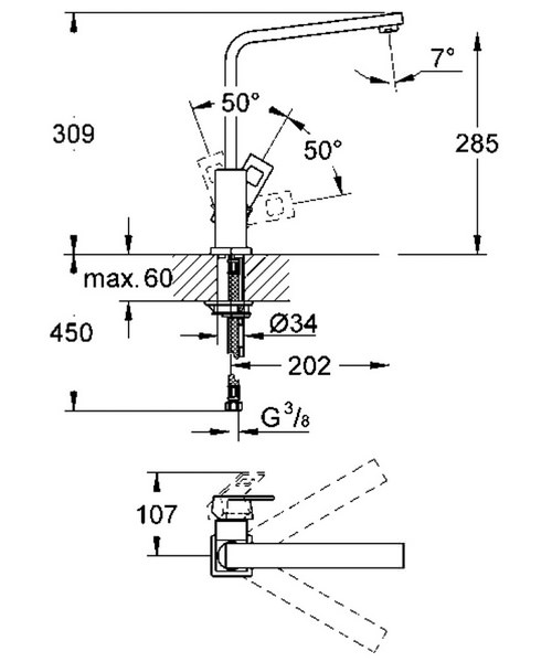 Technical drawing 19805 / 31255000