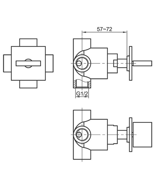 Technical drawing 19856 / BQ4WDIV