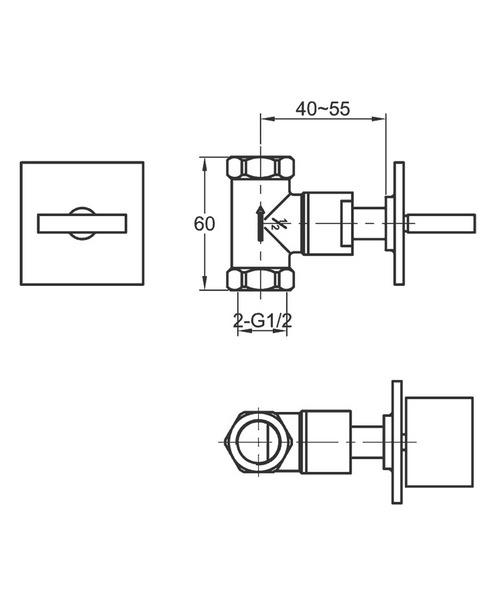 Technical drawing 19857 / BQWMCONCW