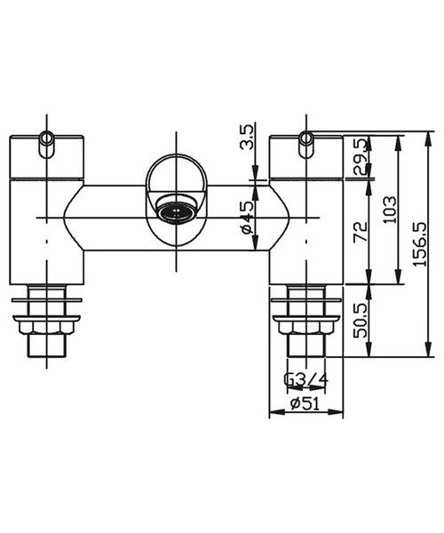 Technical drawing 19883 / XCBF