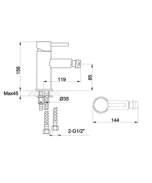 Technical drawing 19887 / IVBID