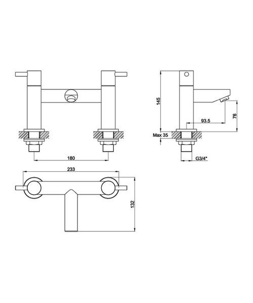 Technical drawing 19889 / IVBF