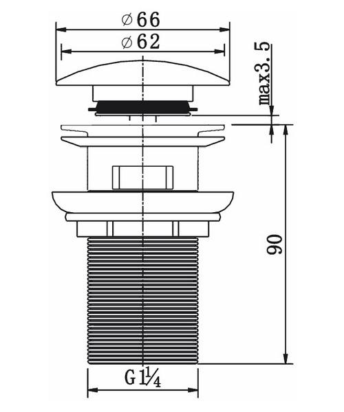 Technical drawing 19942 / CB100