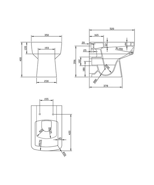Technical drawing 20104 / NCH106B